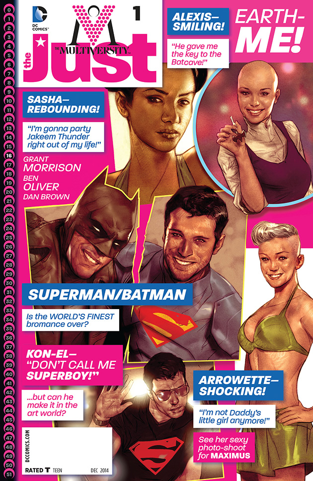 The Multiversity: The Just Vol.1 #1