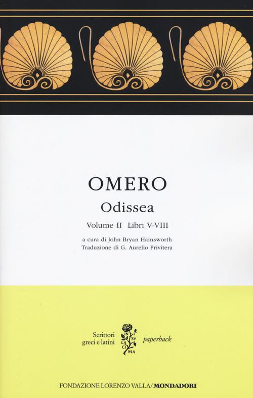 Odissea. Vol. II (Libri V-VIII)