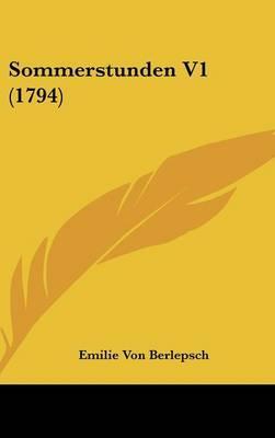Sommerstunden V1 (1794)