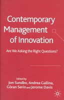 Contemporary Management of Innovation