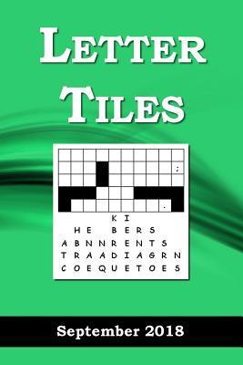 Letter Tiles, September 2018