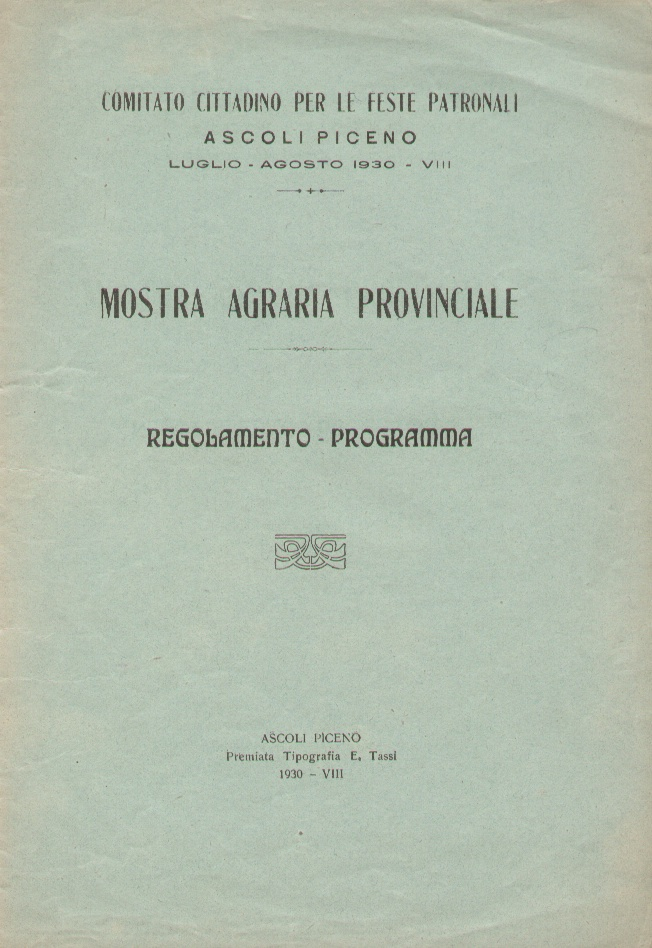 Mostra agraria provinciale