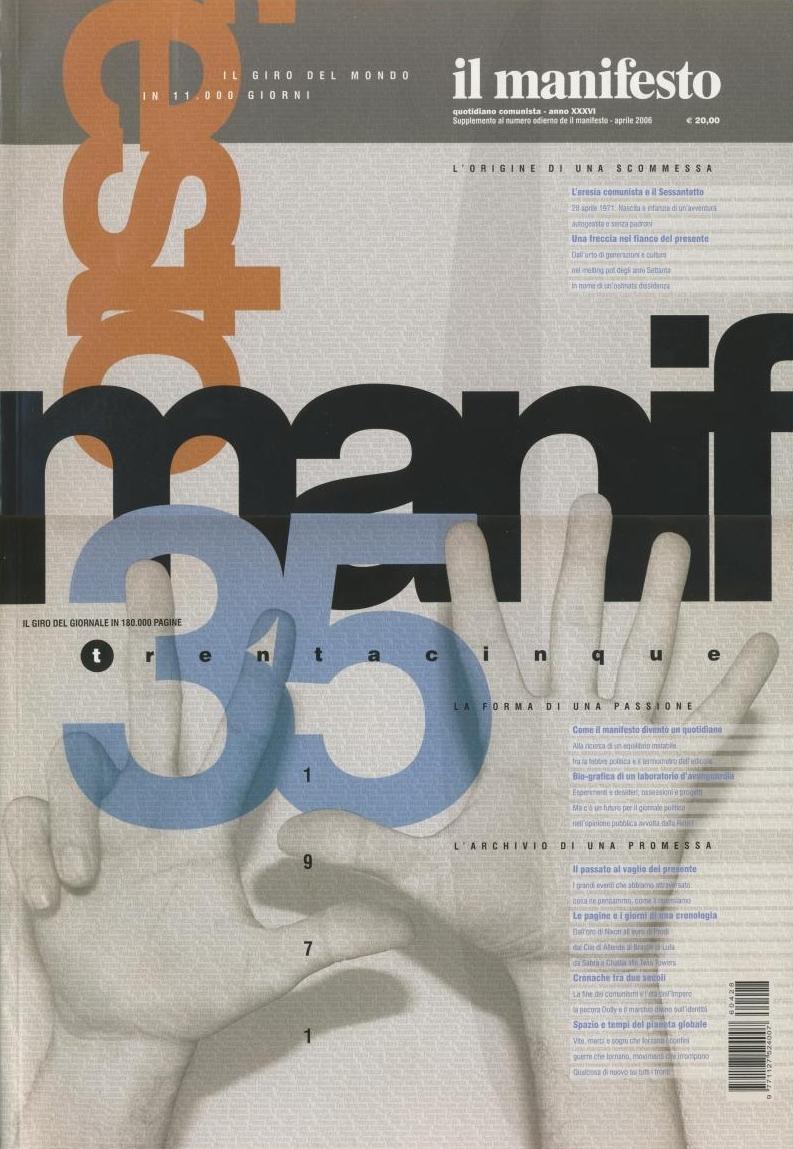 Il manifesto. Speciale trentacinque anni