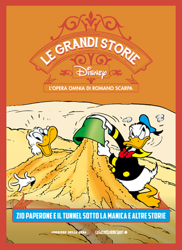 Le grandi storie Disney - L'opera omnia di Romano Scarpa vol. 24