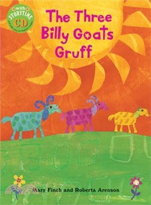 The Three Billy Goats Gruff PB w CD