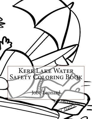 Kerr Lake Water Safety Coloring Book