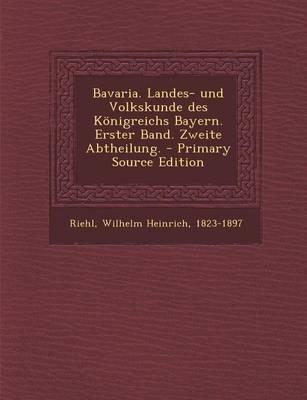 Bavaria. Landes- Und...
