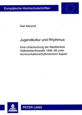 Jugendkultur Und Rhythmus