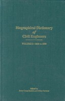 A Biographical Dictionary of Civil Engineers in Great Britain and Ireland: 1830-1890