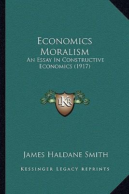 Economics Moralism