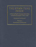 The Hymn Tune Index: Tune indexes