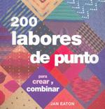 200 labores de punto para crear y combinar