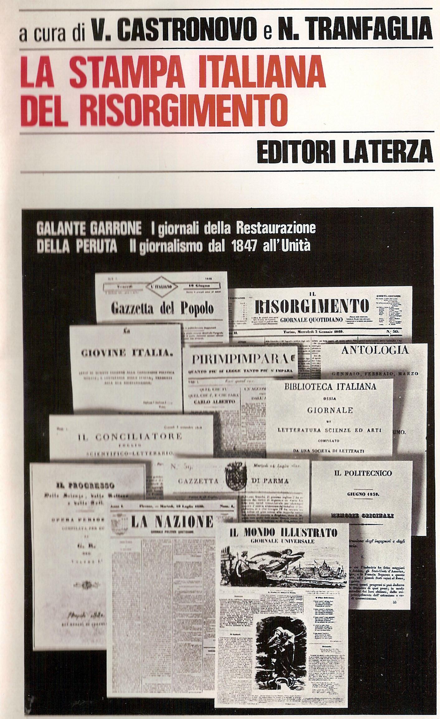 La stampa italiana del Risorgimento