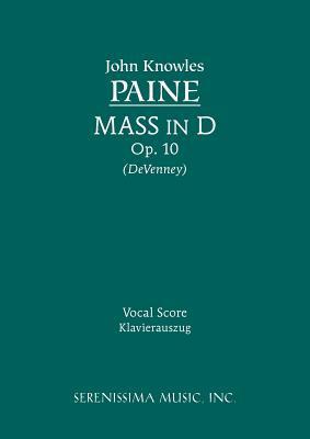 Mass in D, Op. 10 - Vocal score