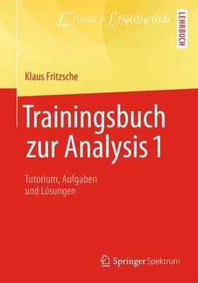 Trainingsbuch Zur Analysis 1