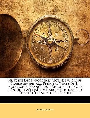 Histoire Des Impts I...