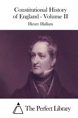 Constitutional History of England