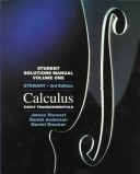 Student Solutions Manual, for Stewart's Calculus