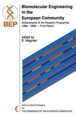 Biomolecular Engineering in the European Community