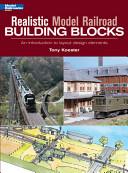 Realistic Model Railroad Building Blocks