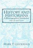 History and Historians