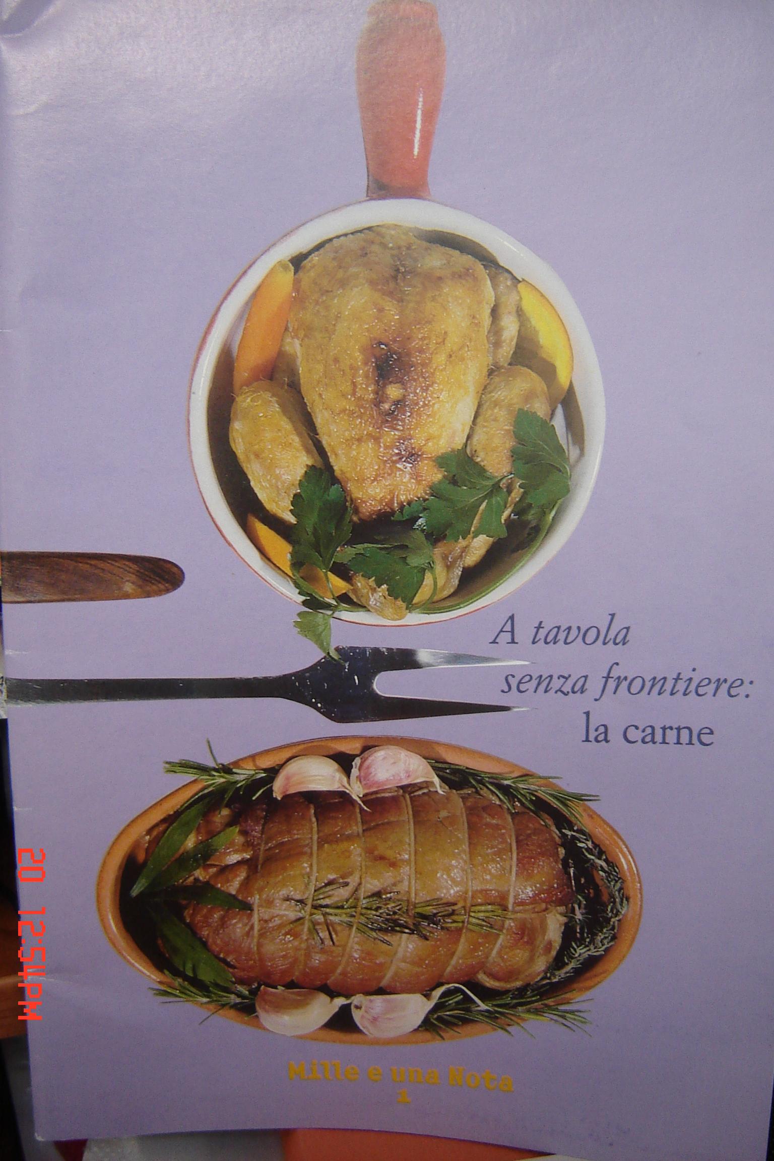 A tavola senza frontiere: la carne