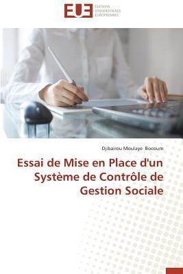 Essai de Mise en Place d'un Systeme de Controle de Gestion Sociale