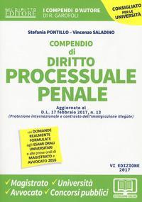 Compendio di procedura penale