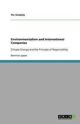 Environmentalism and International Companies