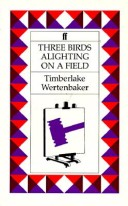 Three Birds Alighting on a Field