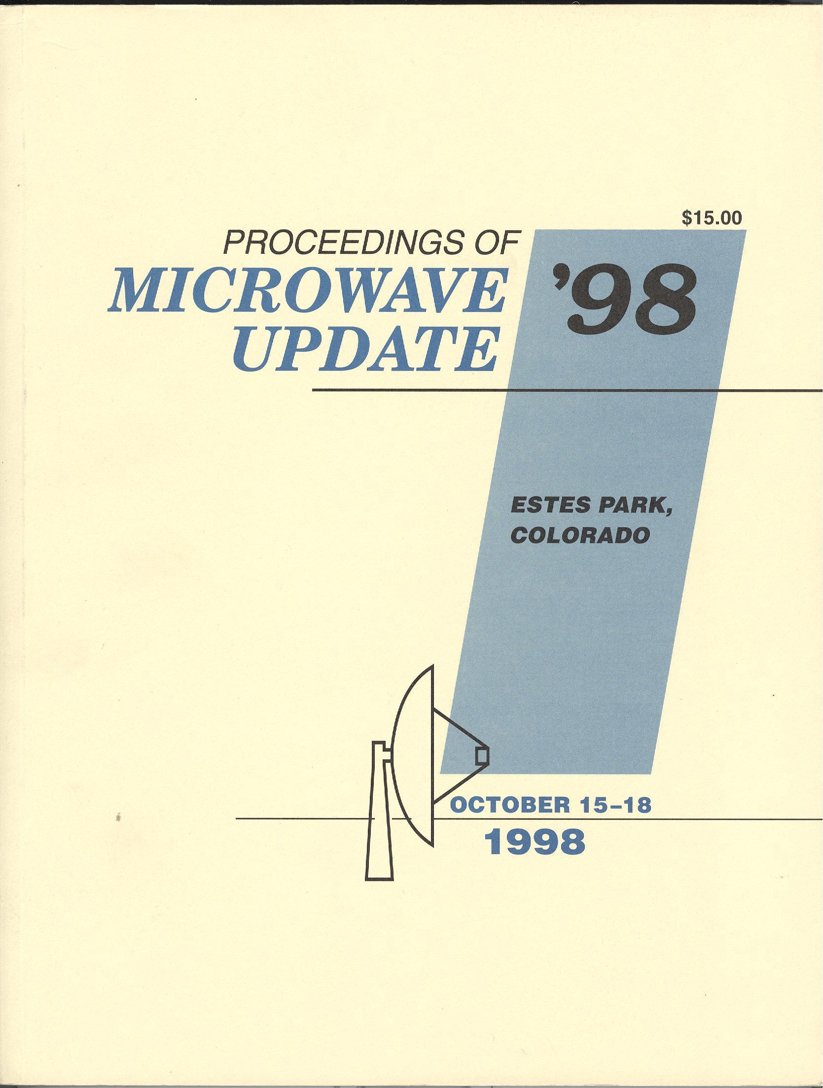 Proceedings of Microwave Update '98