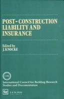 Post-construction liability and insurance