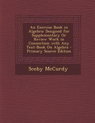 Exercise Book in Algebra