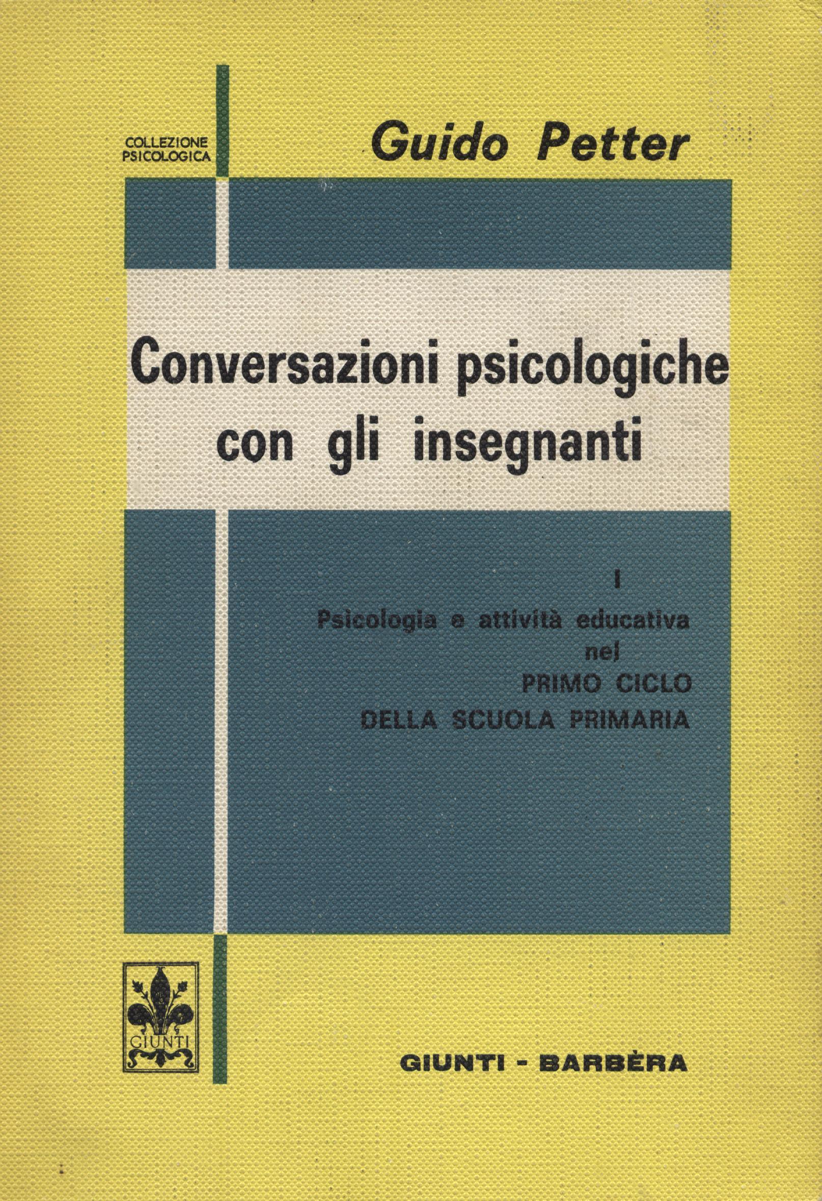 Conversazioni psicologiche con gli insegnanti