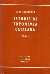 Estudis de toponímia catalana