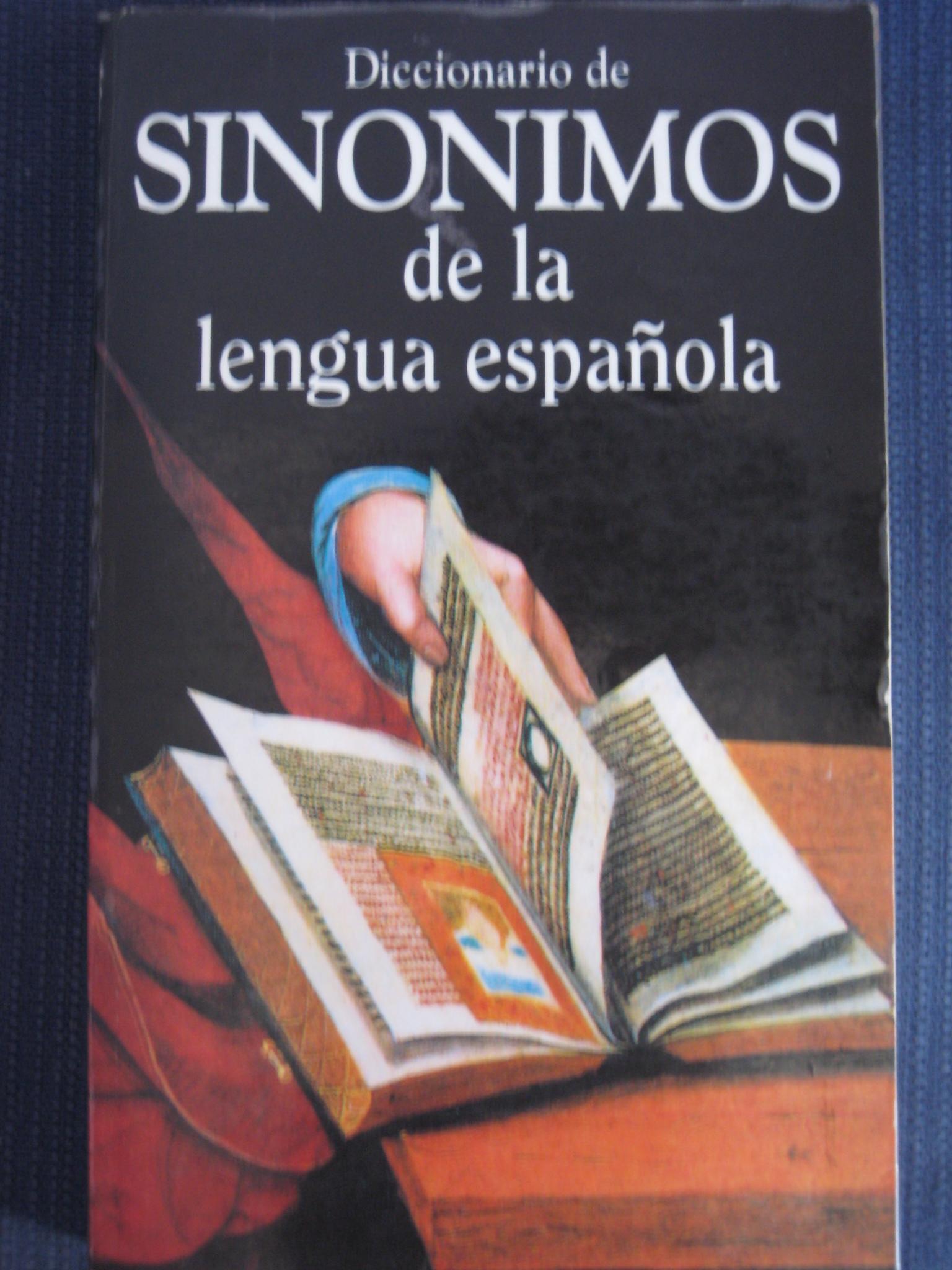 Diccionario de sinónimos de la Lengua española