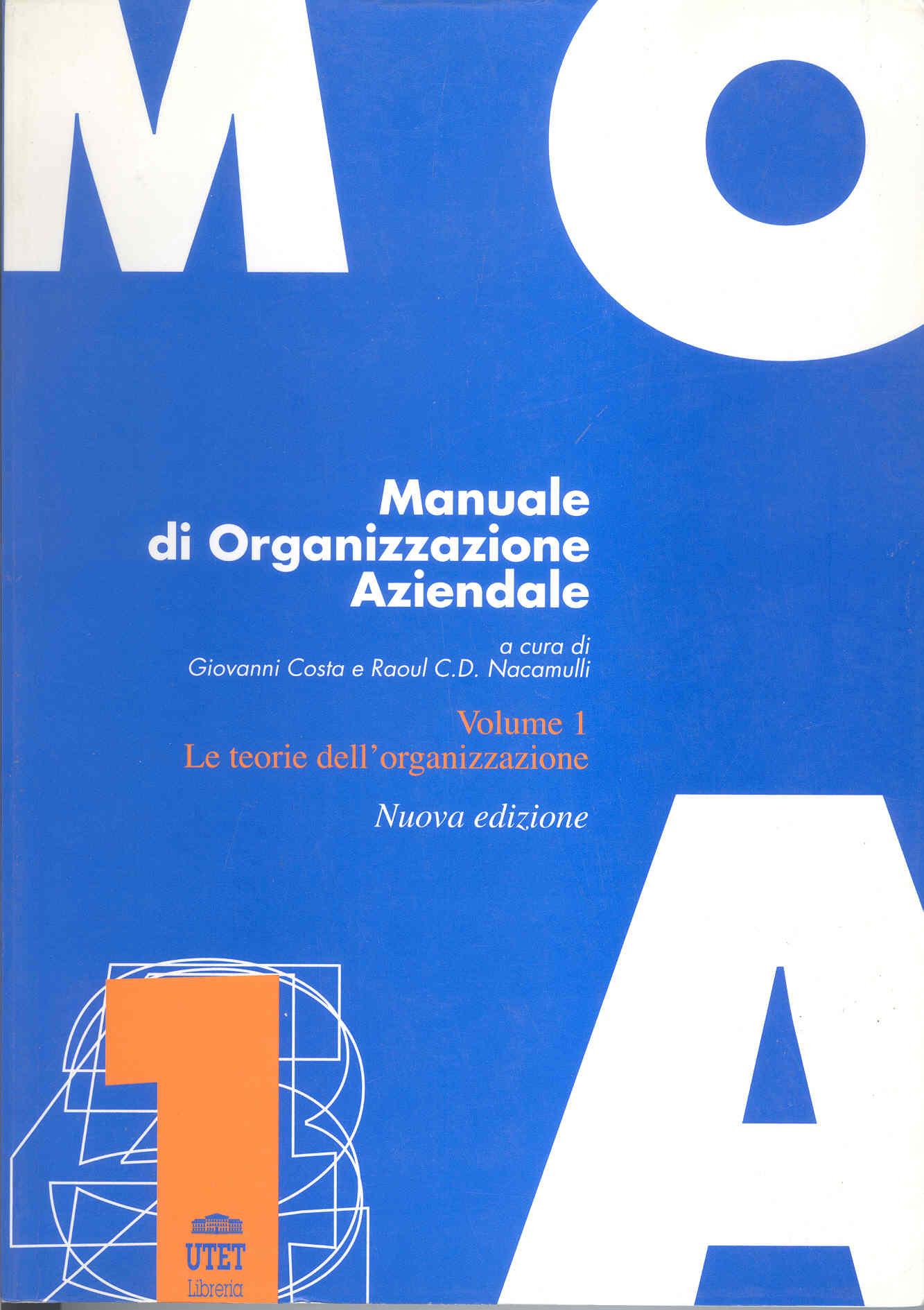Manuale di organizzazione aziendale - Volume 5
