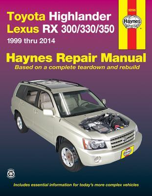 Toyota Highlander Lexus RX 300/330/350 Automotive Repair Manual