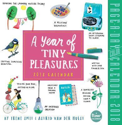 A Year of Tiny Pleasures 2018 Calendar