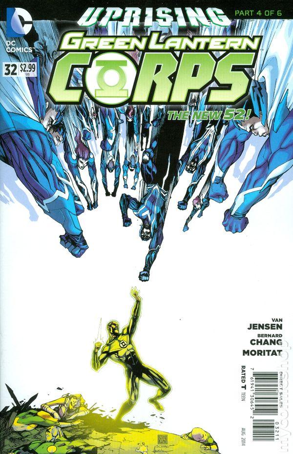 Green Lantern Corps Vol.3 #32