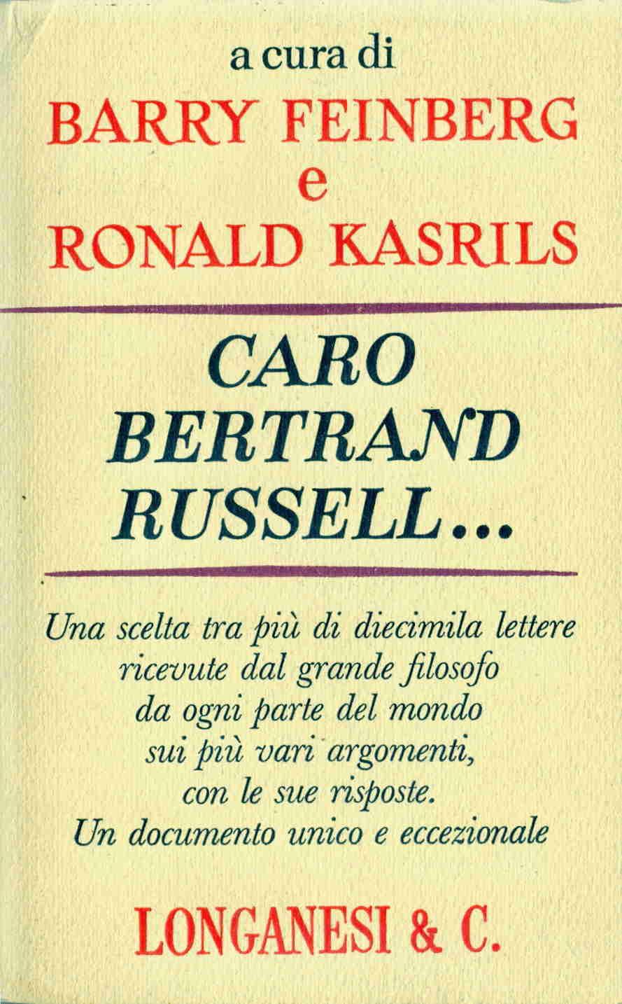 Caro Bertrand Russell...