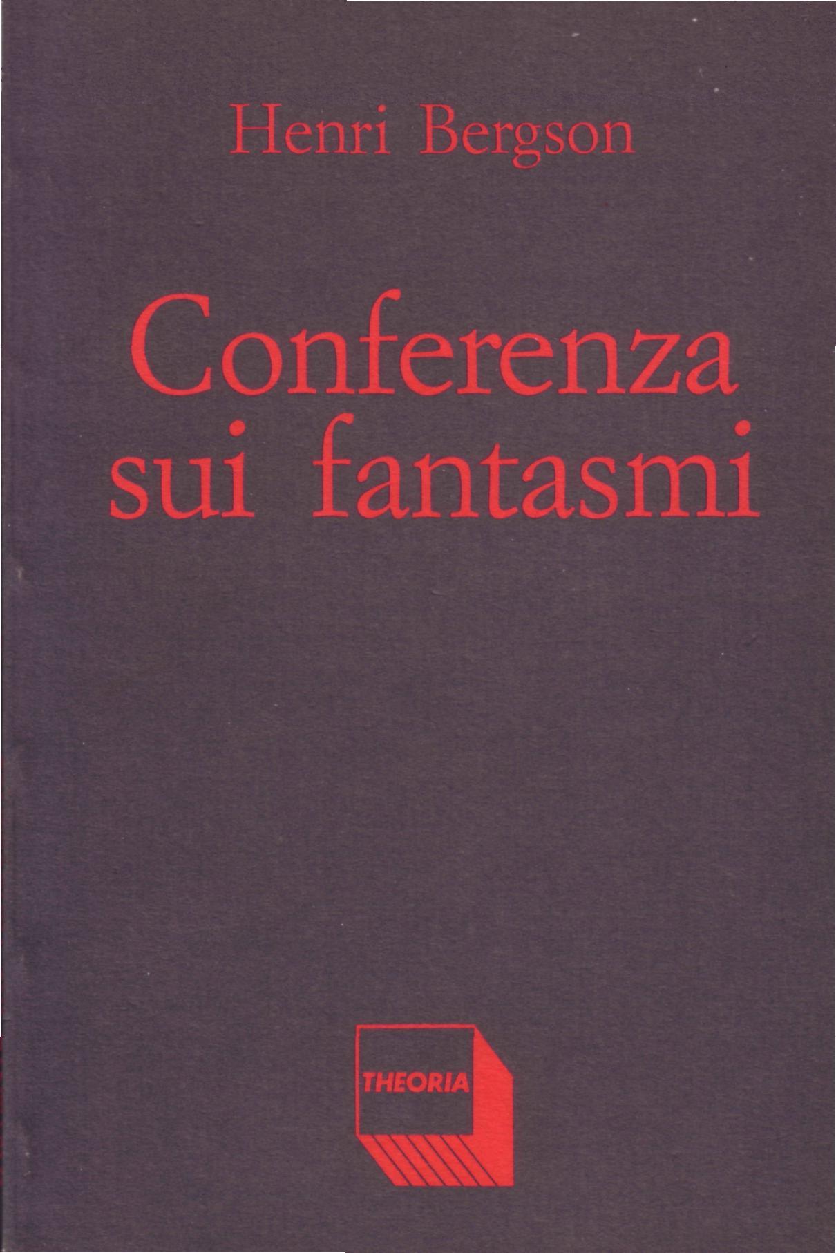 Conferenza sui fantasmi