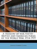 A Treasury of War Poetry