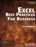 Excel Best Practices for Business