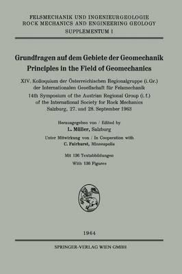 Grundfragen Auf Dem Gebiete Der Geomechanik / Principles in the Field of Geomechanics, XIV