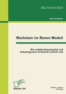 Wachstum im Romer-Modell