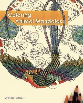 Coloring Animal Mandalas Adult Coloring Book