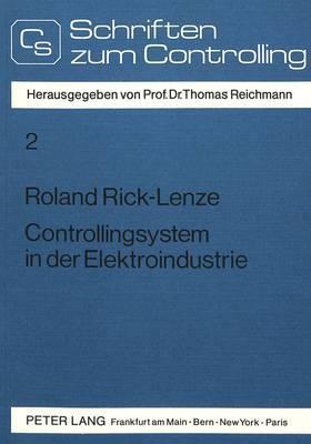 Controllingsystem in der Elektroindustrie