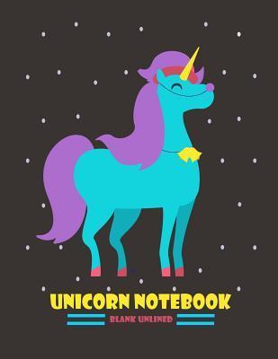 Unicorn Journal Blank Unlined