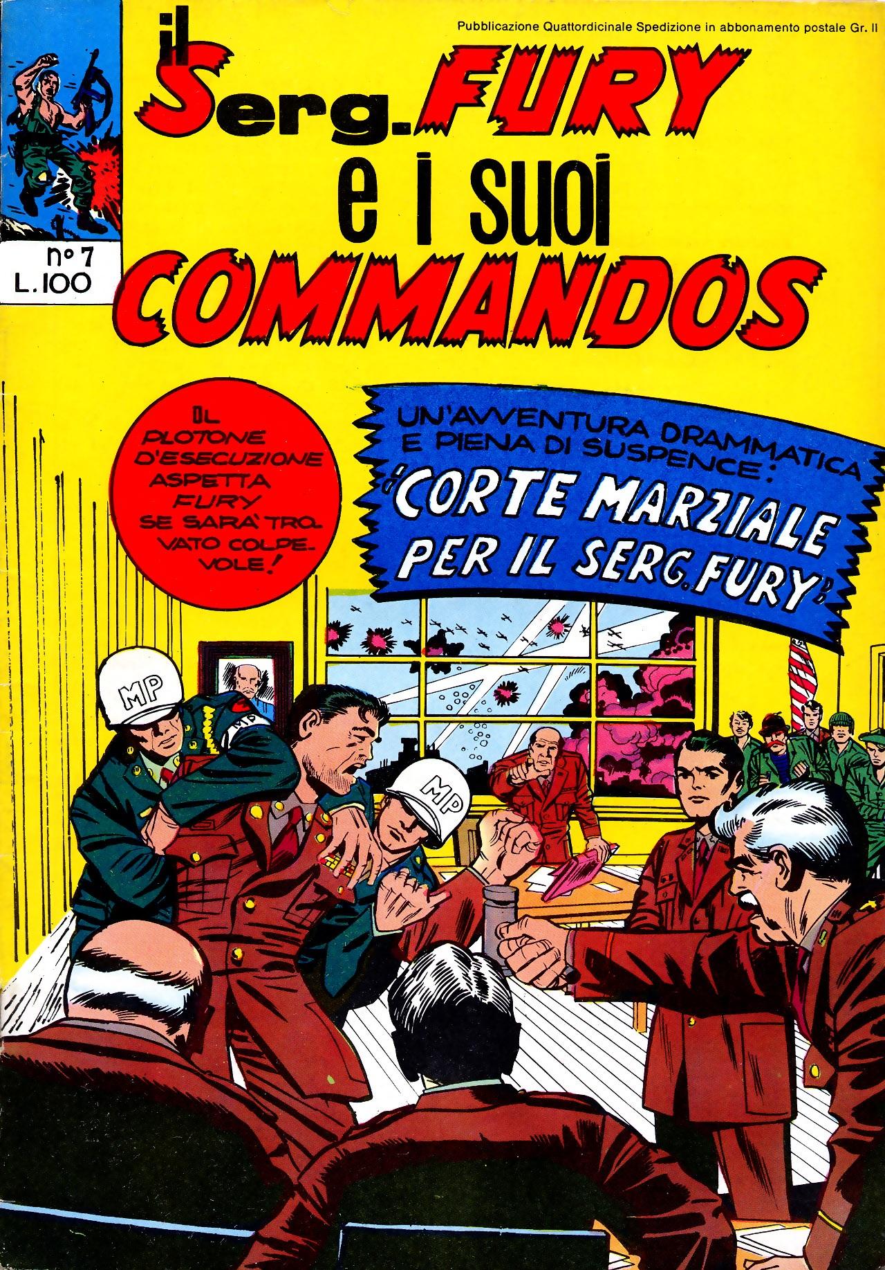 Il serg. Fury e i suoi commandos n. 7